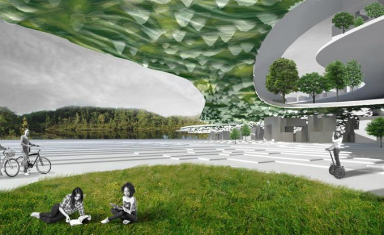 Exemplo do projeto de cidade verticla