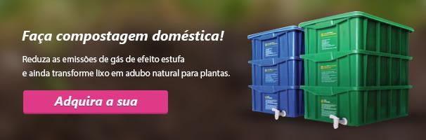 Faça compostagem doméstica