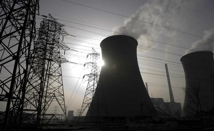 usina terméletrica movida a carvão