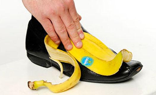 Bananas polimento sapato