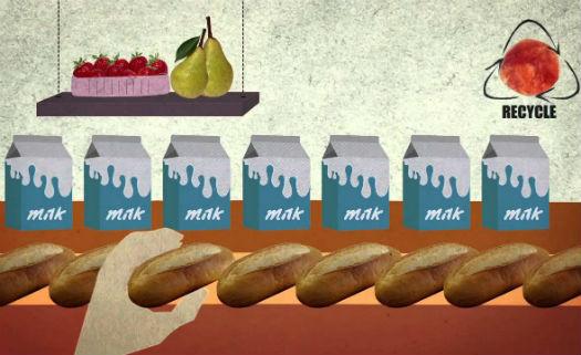 A pegada ambiental mostra como é irracional o desperdício de alimentos