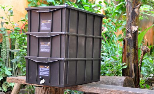 Aprenda como começar a fazer compostagem com a sua composteira novinha
