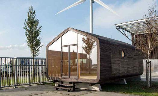 Pequena casa feita de papel o pode durar at cem anos for Design eco casa verde