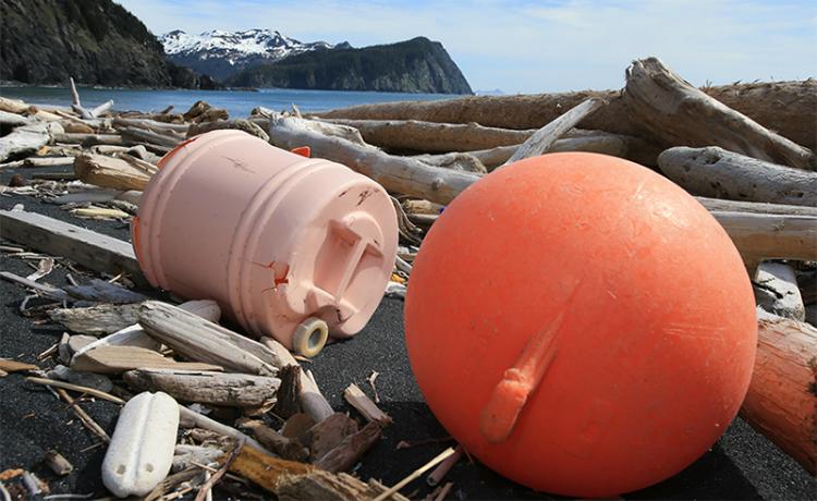 Lixo no Alaska