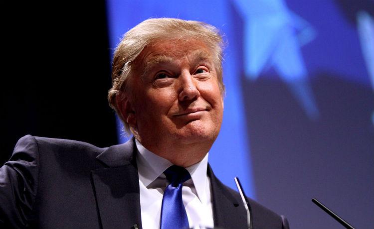 Donald Trump, é conhecido por ser um negacionista climático